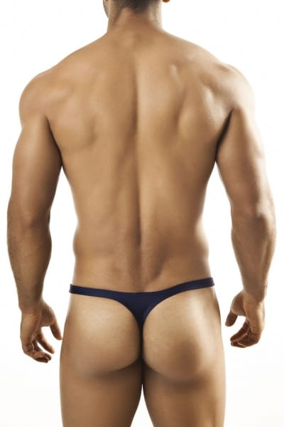 Joe Snyder Underwear Shining Thong navy JS03 Thong with a 2,5 cm back 80% Polyamide, 20% Lycra S-XL JS03_navy