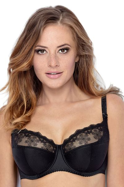 Johanna Semi-Soft Bra Black