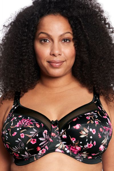 Goddess Kayla UW Banded Bra Serendipity Underwired, non-padded banded bra 75-105, E-N GD6162-SDY