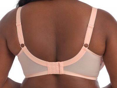 Goddess Kayla UW Banded Bra Peach Melba Underwired, non-padded banded bra 75-105, E-N GD6162-PMA