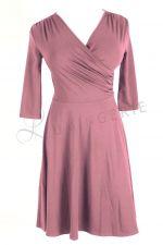 Koperta Dress with 3/4 Sleeves Smoky Lilac