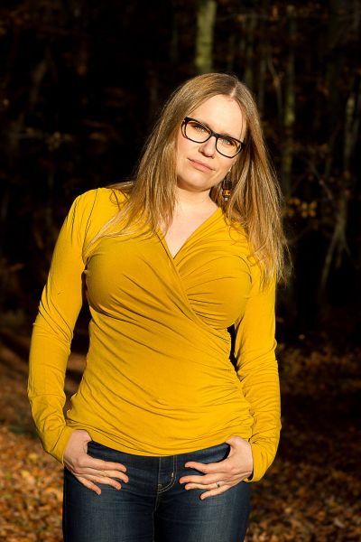 Urkye Kopertowka Long Sleeved Wrap Top Honey Long sleeved mock wrap top 34-50 O/OO, OO/OOO BL-040-ZOL-2020