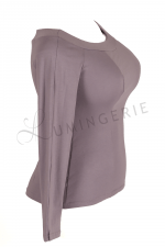 Kukulka Long Sleeved Top Grey Lilac