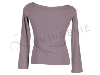 Urkye Kukulka Long Sleeved Top Grey Lilac  34-44 O/OO, OO/OOO BL-030