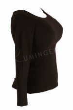 Kukulka Long Sleeved Top Black