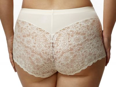 Lace Cheeky Brief Ivory