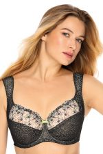 Laura Soft Bra Tempting Black