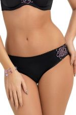 Lilah Briefs Black Lilac
