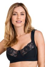 Lovely Lace Non-Wired Bra Black