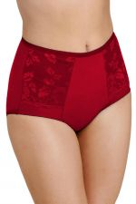 Lovely Lace Support Brief Red