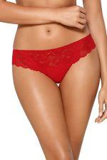 Madison Brazilian Thong Red