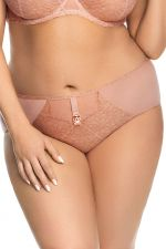 Magic Rose Briefs Beige Copper