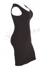 Mala Sleeveless Stretch Dress Black