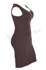 Mala Sleeveless Stretch Dress Grey