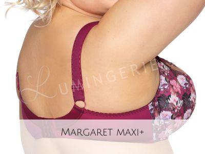 Margaret Semi Soft Bra Plum Lotus Print