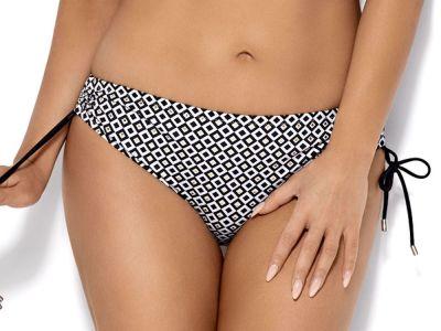 Ava Swimwear Marigold Bikini Briefs Black White Gold  S-3XL SF-89/2