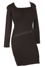 Mi Long Sleeved Dress Black