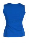 Urkye Mikra Top Lapis Blue-thumb Sleeveless tailored top 34-44 O/OO, OO/OOO BL-029-NIE