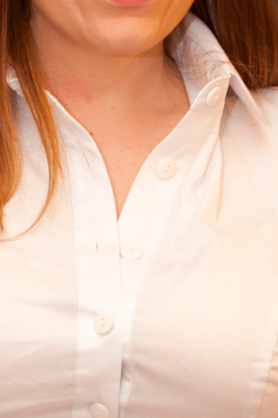 Minimal Long Sleeved Button Up Shirt White