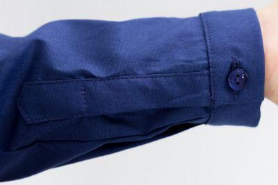 Urkye Minimal Long Sleeved Button Up Shirt Navy Tight-fitting, formed button up shirt with long sleeves 36-46 1/2 & 1/3 KO-006-GRA-2021