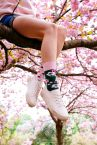 Cherry Blossom Regular Socks 1 pair-thumb