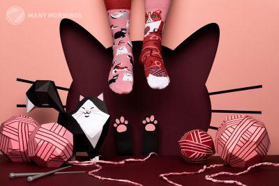 Playful Cat Regular Socks 1 pair
