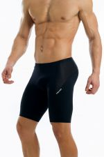 Active meggings short black