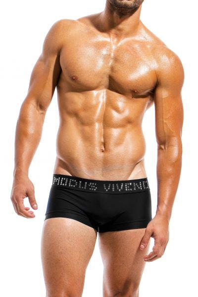 Modus Vivendi Brand Swim Boxer black Brazil cut boxer 80% Polyamide, 20% Elastan S-XL BS1821