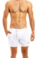 Capsule swimwear short white