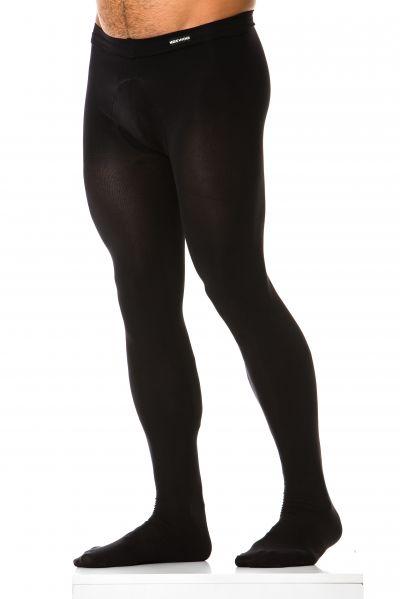 Modus Vivendi Men Tights black Men tights 100% Nylon S/M - L/XL XS1822