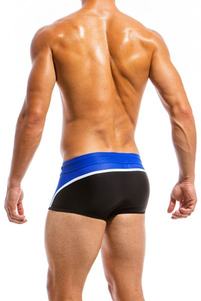 Multi trunk swim boxer marine