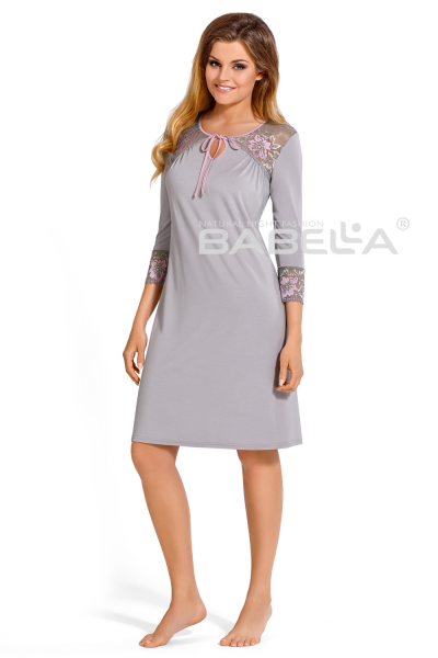 Natalie Nightdress Grey