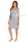 Natalie Nightdress Grey-thumb