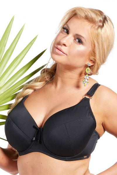 Black Padded Bikini Bra