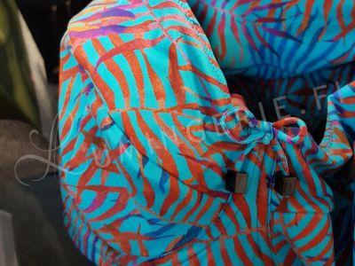 Nessa Swimwear Estella Soft Cup Bikini Bra Leaf Print  70-90, D-M