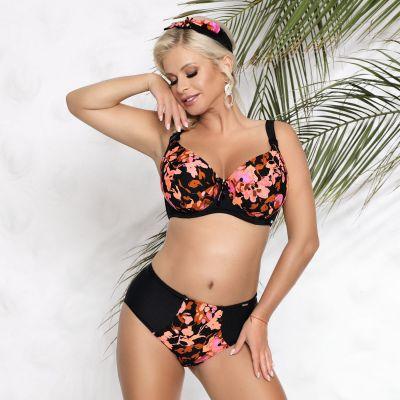 Fidzi Soft Cup Bikini Bra Floral