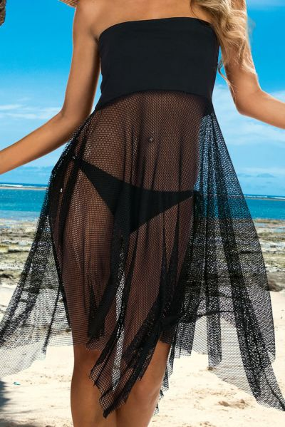 Omena 2-in-1 Skirt-Dress Black