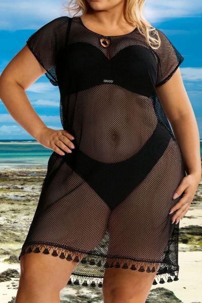Hamana Omena Tunic Black  S/M, L/XL, 2XL/3XL