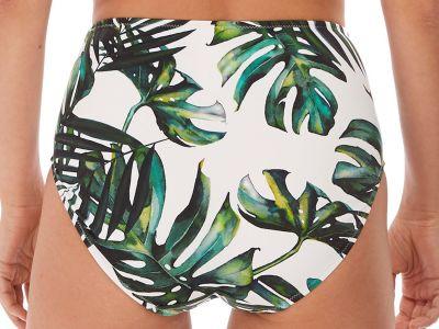 Palm Valley High Rise Bikini Brief Fern