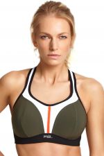 Panache Sport Non Wired Sports Bra Khaki