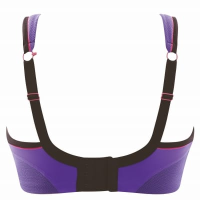 Panache Sport Non Wired Sports Bra Purple Pink