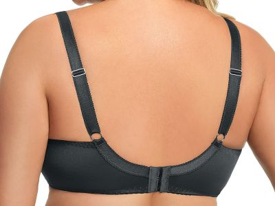 Gorsenia Paradise Soft Bra Grey Underwired, non-padded bra 65-100, D-M K496-SZA