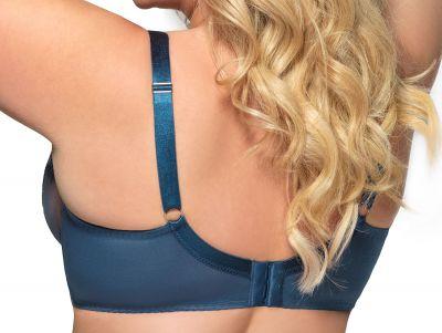 Gorsenia Pasadena Soft Bra Saphire Blue Underwired, non-padded bra 65-100, D-M K607