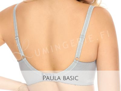 Gaia Lingerie Paula Semi Soft Bra Grey Orchid Underwired, semi-soft bra 70-105, D-L BS--918-SZA