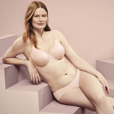 PrimaDonna Every Woman Seamless T-shirt Bra Pink Blush Underwired, non-padded seamless bra 65-100, D-H 0163110-PIB