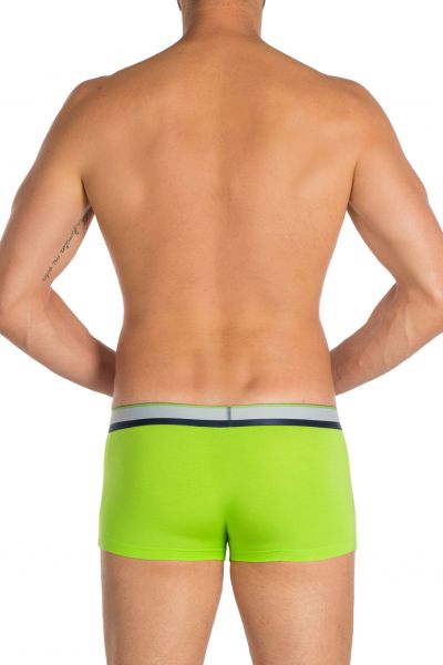 Obviously PrimeMan Trunk Lime Trunk 90% Lenzing MicroModal, 10% Lycra <br> S-XL A03-1P