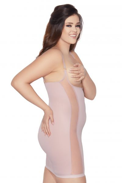Pure Style Shaper Dress Powder Pink