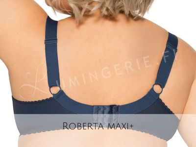 Gaia Lingerie Roberta Soft Bra Night Garden Underwired, soft cup bra with side support 70-105, D-L BS-994-GRA-S16/SMX16