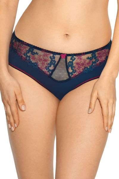 Gaia Lingerie Roberta Briefs Night Garden Midi brief with normal waist M/38 - 4XL/48 GFP-993-GRA-FP