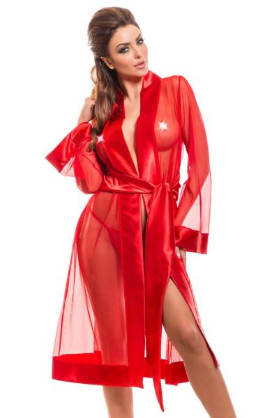 Roberto Dressing Gown Red